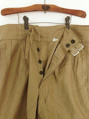 Italian army chino shorts old type_f0226051_19274745.jpg