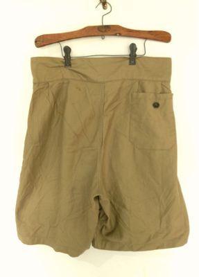 Italian army chino shorts old type_f0226051_19274798.jpg