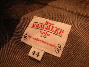 "\""Der SAMMLER solo × TheThreeRobbers SHORT PANTS SWISS DENIM\""ってこんなこと。_c0140560_12131217.jpg"