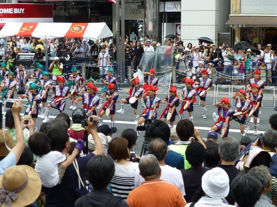 新宿エイサー祭り_c0100865_5354228.jpg