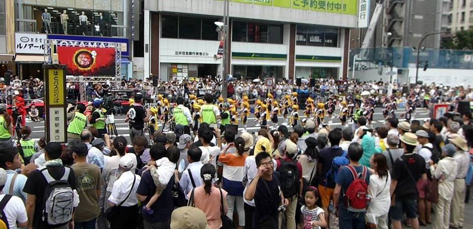 新宿エイサー祭り_c0100865_5363746.jpg
