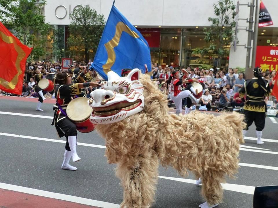 新宿エイサー祭り_c0100865_5404328.jpg