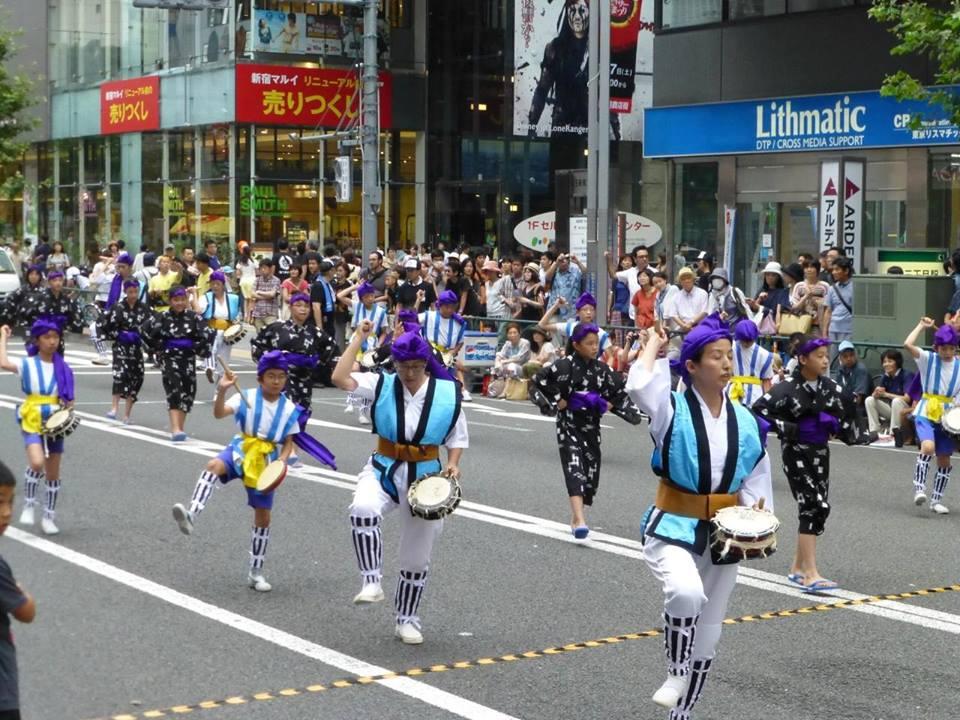 新宿エイサー祭り_c0100865_5415497.jpg