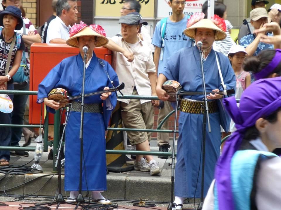 新宿エイサー祭り_c0100865_5422321.jpg