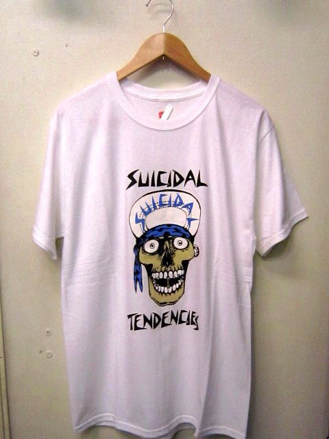 「 SUICIDAL TENDENCIES T-SHIRT 」_c0078333_2223254.jpg