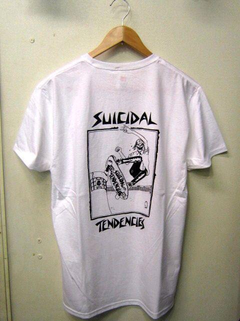 「 SUICIDAL TENDENCIES T-SHIRT 」_c0078333_2223295.jpg