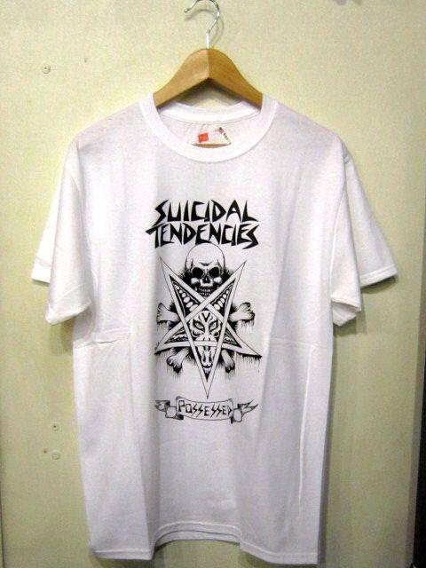「 SUICIDAL TENDENCIES T-SHIRT 」_c0078333_22233346.jpg