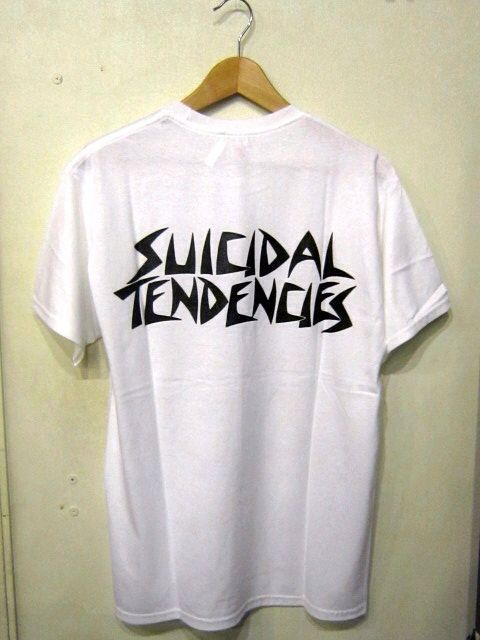 「 SUICIDAL TENDENCIES T-SHIRT 」_c0078333_22233431.jpg