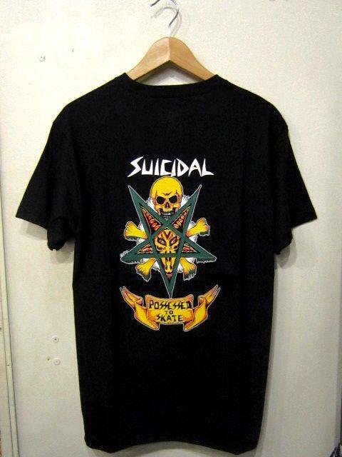 「 SUICIDAL TENDENCIES T-SHIRT 」_c0078333_22234314.jpg