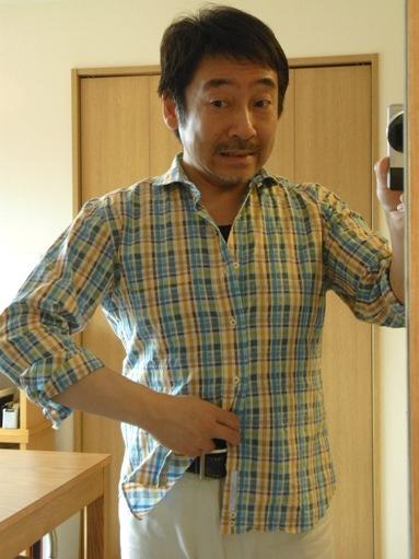 """""""夏のシャツ""""も ~カジュアルにオーダーメイド~ があたり前だよ! 編_c0177259_19184741.jpg"""