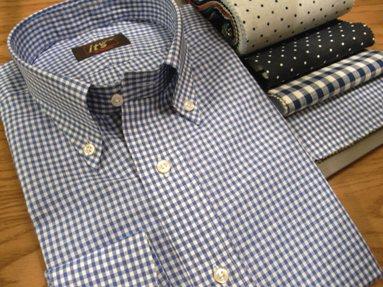 """""""夏のシャツ""""も ~カジュアルにオーダーメイド~ があたり前だよ! 編_c0177259_200479.jpg"""