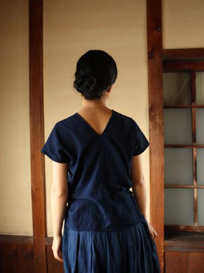 えみおわすの青い服_b0171381_23505653.jpg