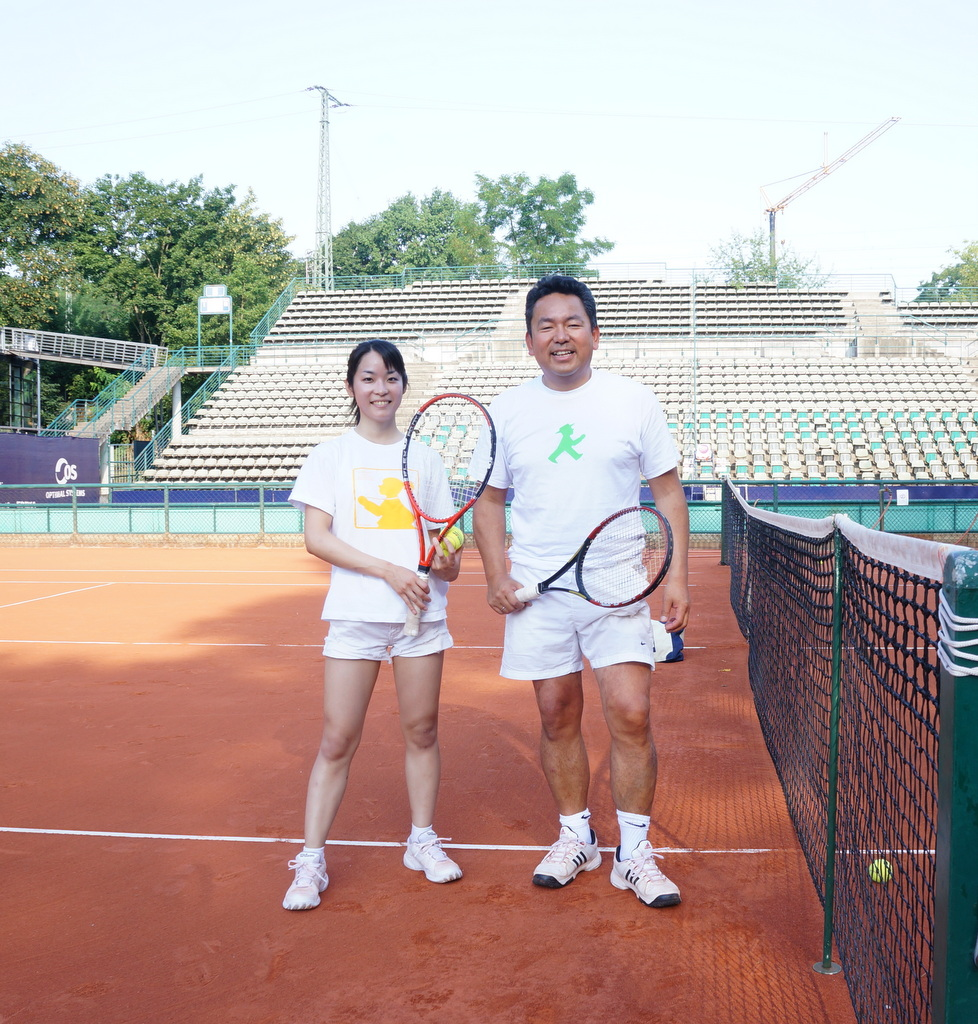 土曜日。テニス+Markt+夜は拙宅で食事会。_c0180686_047146.jpg