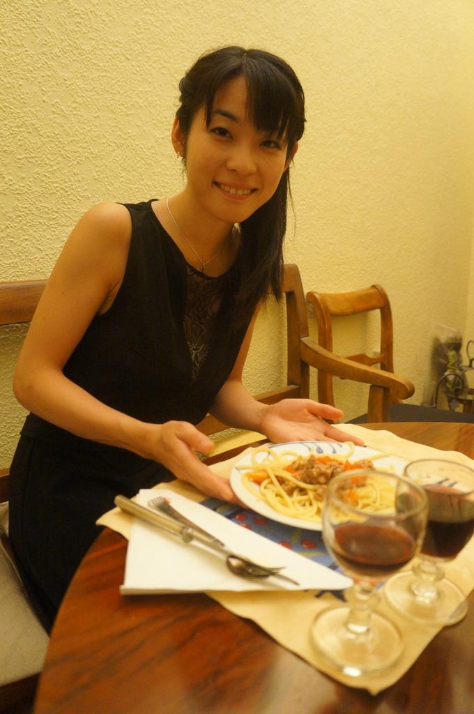 土曜の晩餐、懐かしい再会。_c0180686_23462730.jpg