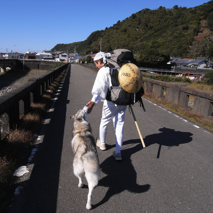 Memory of the second pilgrimage with husky HANA_c0049299_1031974.jpg