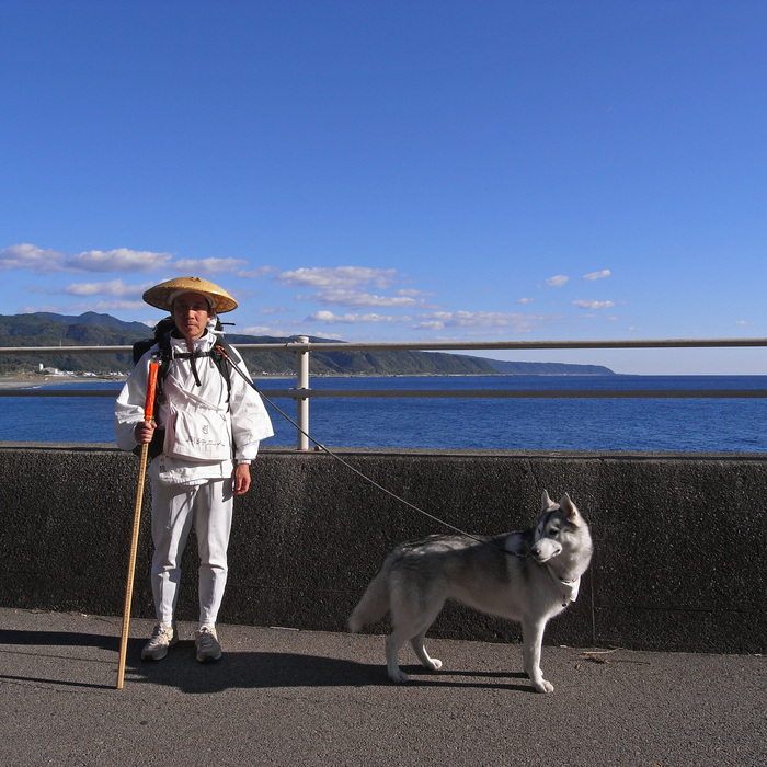 Memory of the second pilgrimage with husky HANA_c0049299_10381628.jpg