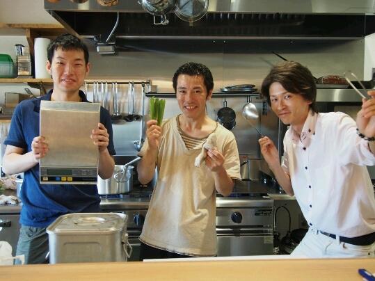 waju kitchenフレンチ専属講師のふみ先生の店が南流山についにopen♪_b0252508_07543.jpg
