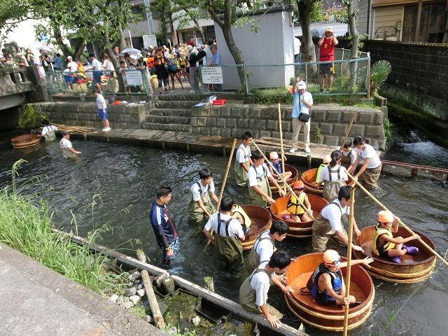 今年も盛大に開催「第27回 田宿川たらい流し川祭り」_f0141310_6561293.jpg