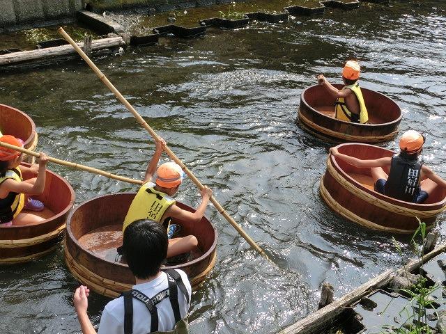 今年も盛大に開催「第27回 田宿川たらい流し川祭り」_f0141310_6563248.jpg