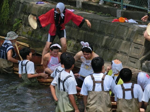 今年も盛大に開催「第27回 田宿川たらい流し川祭り」_f0141310_6592466.jpg