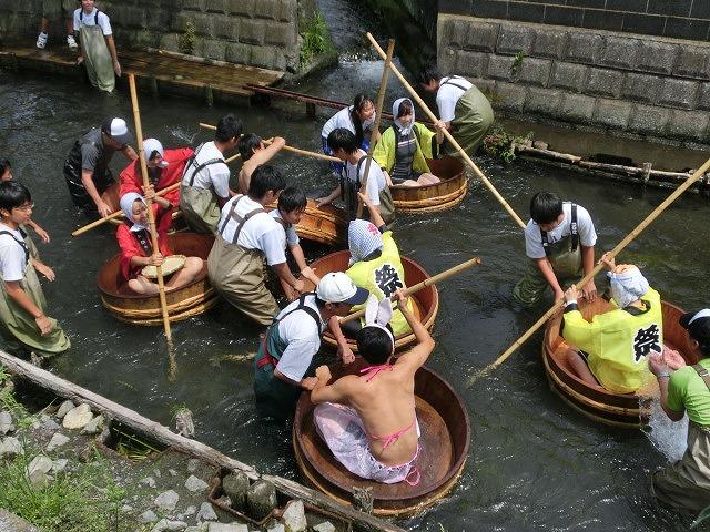 今年も盛大に開催「第27回 田宿川たらい流し川祭り」_f0141310_6595531.jpg