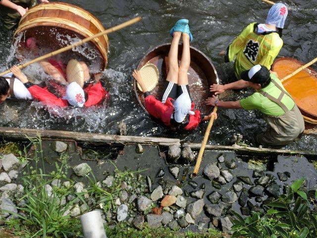 今年も盛大に開催「第27回 田宿川たらい流し川祭り」_f0141310_70351.jpg