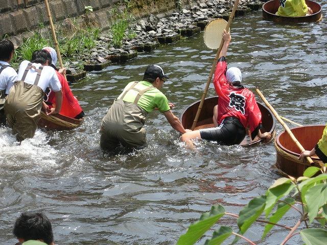 今年も盛大に開催「第27回 田宿川たらい流し川祭り」_f0141310_703641.jpg