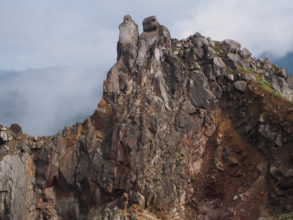 焼岳(新中の湯ルート登山口~中の湯新道~焼岳北峰~折り返し)_a0203733_9524833.jpg