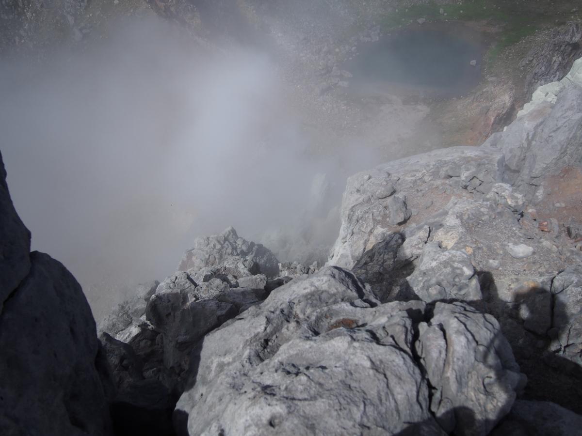 焼岳(新中の湯ルート登山口~中の湯新道~焼岳北峰~折り返し)_a0203733_9533253.jpg
