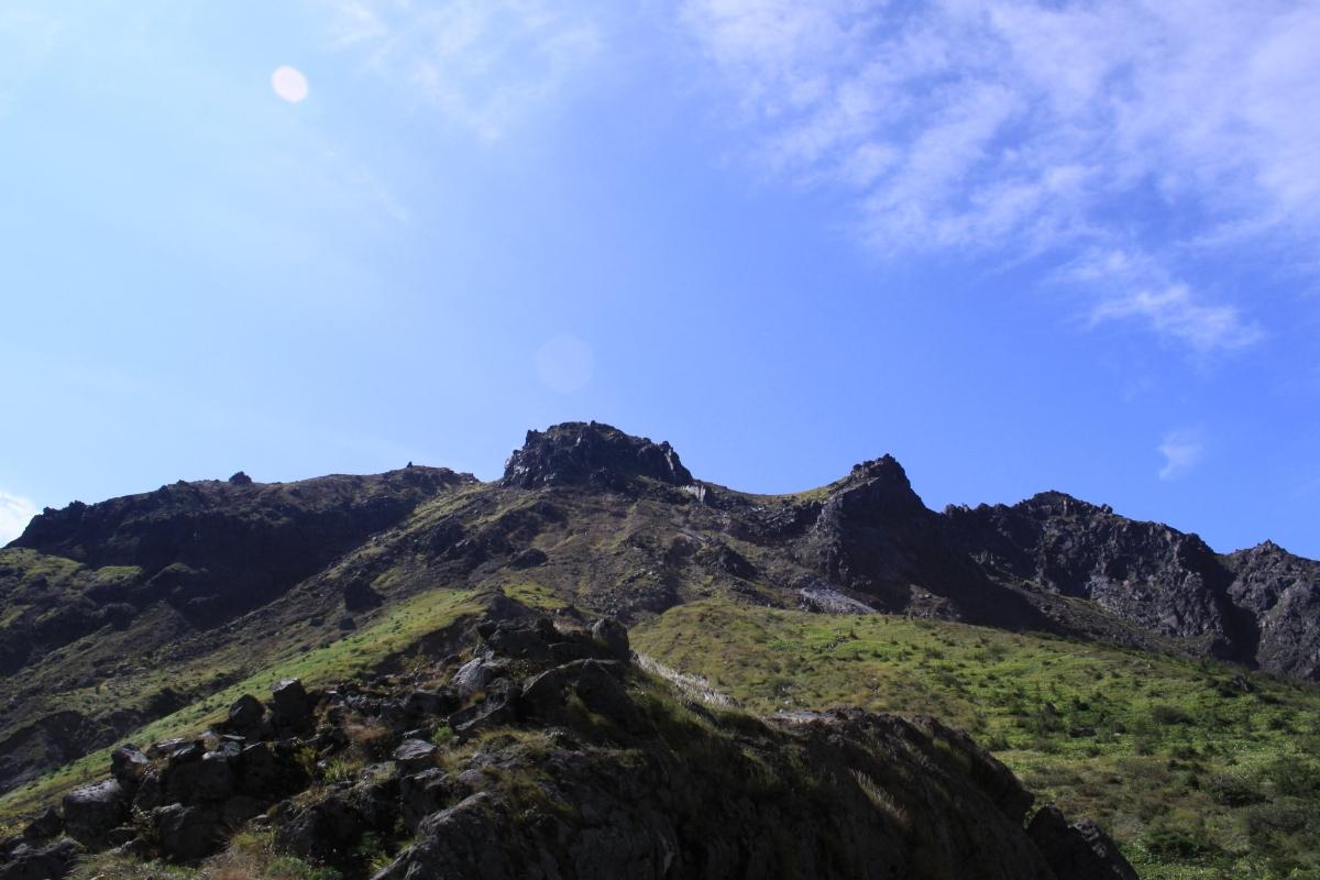 焼岳(新中の湯ルート登山口~中の湯新道~焼岳北峰~折り返し)_a0203733_959147.jpg