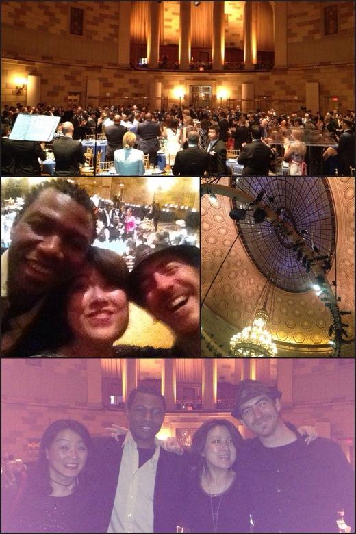 JCI Partnership Summit 2013のレセプションでニューヨークのゴッサムホールで歌いました。_a0150139_8113518.jpg