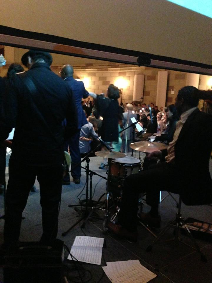 JCI Partnership Summit 2013のレセプションでニューヨークのゴッサムホールで歌いました。_a0150139_8115993.jpg