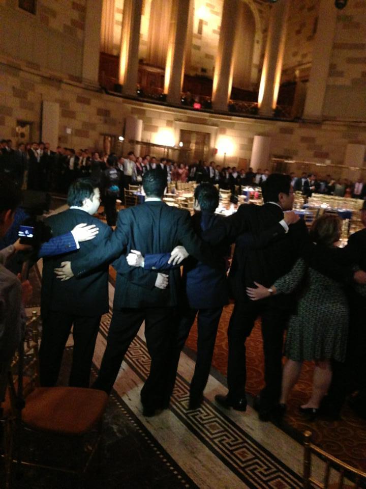 JCI Partnership Summit 2013のレセプションでニューヨークのゴッサムホールで歌いました。_a0150139_812167.jpg