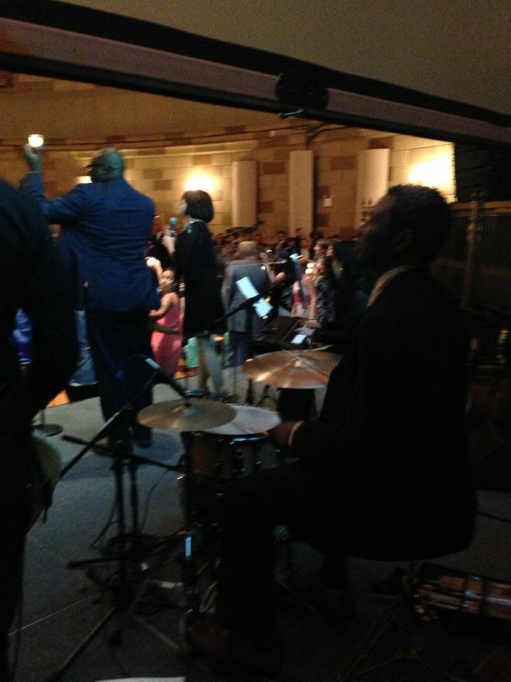 JCI Partnership Summit 2013のレセプションでニューヨークのゴッサムホールで歌いました。_a0150139_813444.jpg