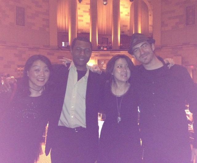 JCI Partnership Summit 2013のレセプションでニューヨークのゴッサムホールで歌いました。_a0150139_8202677.jpg