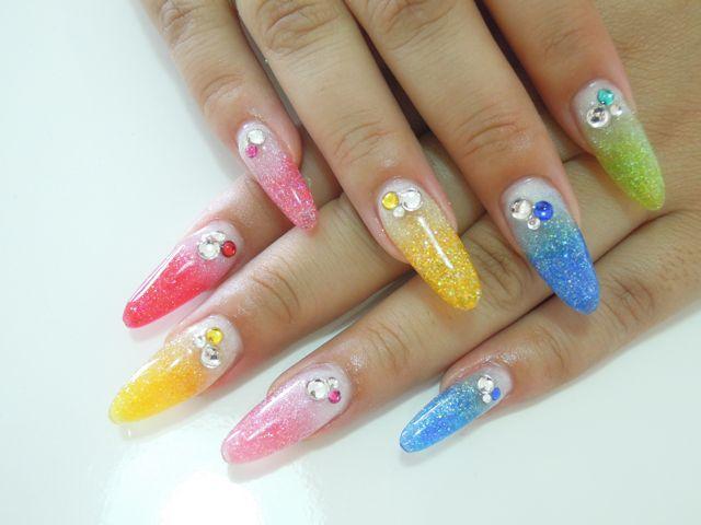 Colorful Nail_a0239065_14374740.jpg