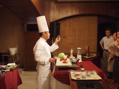 「オーガニックをおいしく食べよう!」in札幌パークホテル_f0254491_17462647.jpg
