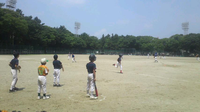 名城公園野球場教育リーグ_a0105698_13395479.jpg