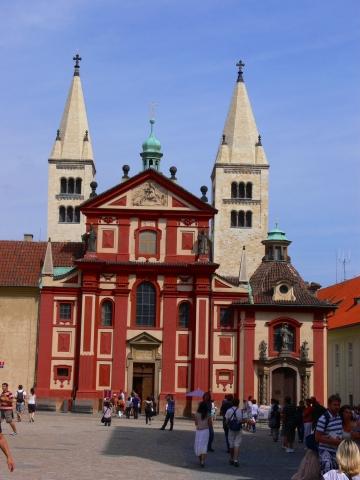 中欧家族旅行2012年08月-第九日目-チェコ・プラハ、プラハ城(V)、旧王宮と聖イジー教会_c0153302_13494467.jpg