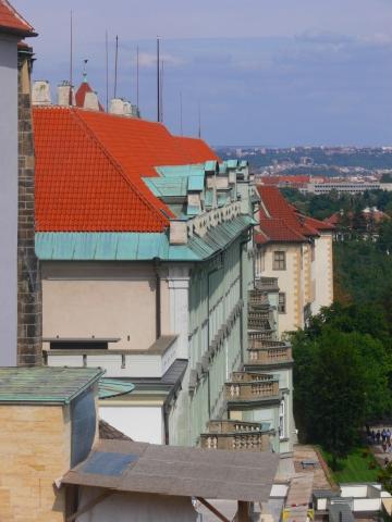 中欧家族旅行2012年08月-第九日目-チェコ・プラハ、プラハ城(V)、旧王宮と聖イジー教会_c0153302_13545954.jpg