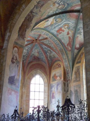 中欧家族旅行2012年08月-第九日目-チェコ・プラハ、プラハ城(V)、旧王宮と聖イジー教会_c0153302_13555551.jpg
