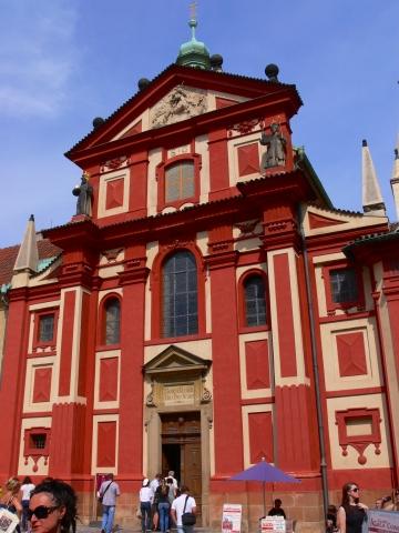 中欧家族旅行2012年08月-第九日目-チェコ・プラハ、プラハ城(V)、旧王宮と聖イジー教会_c0153302_1355736.jpg
