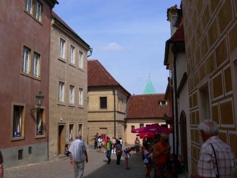 中欧家族旅行2012年08月-第九日目-チェコ・プラハ、プラハ城(V)、旧王宮と聖イジー教会_c0153302_1356535.jpg