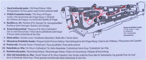 中欧家族旅行2012年08月-第九日目-チェコ・プラハ、プラハ城(V)、旧王宮と聖イジー教会_c0153302_1412977.jpg