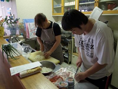 炊き出し訓練を実施!_a0154110_1673017.jpg