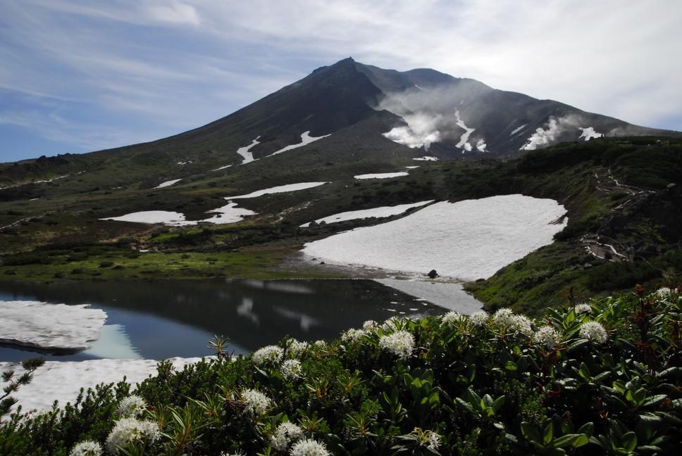 2013年7月 July 2013 大雪トムラウシ山系縦走 Trekking in Taisetsu (Tomurausi) Mountains_c0219616_14375899.jpg