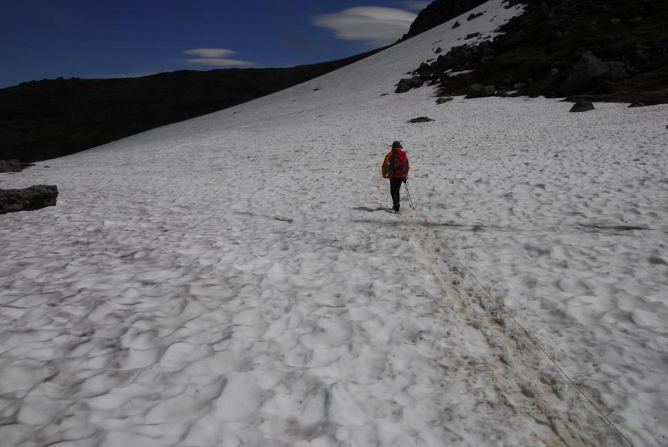 2013年7月 July 2013 大雪トムラウシ山系縦走 Trekking in Taisetsu (Tomurausi) Mountains_c0219616_14464286.jpg