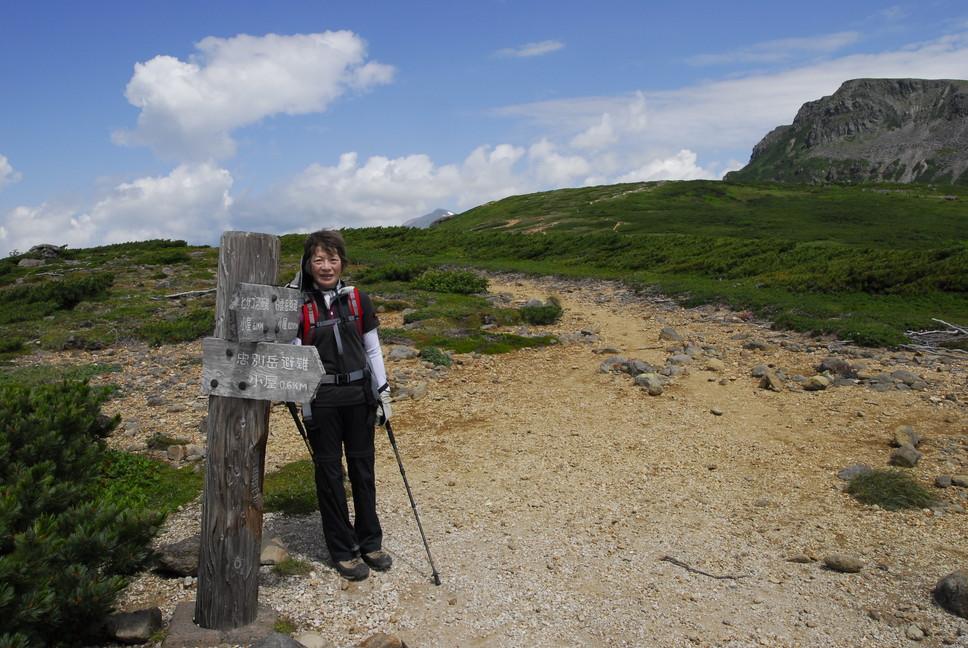 2013年7月 July 2013 大雪トムラウシ山系縦走 Trekking in Taisetsu (Tomurausi) Mountains_c0219616_1565453.jpg