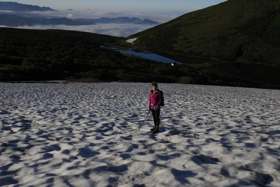 2013年7月 July 2013 大雪トムラウシ山系縦走 Trekking in Taisetsu (Tomurausi) Mountains_c0219616_160211.jpg