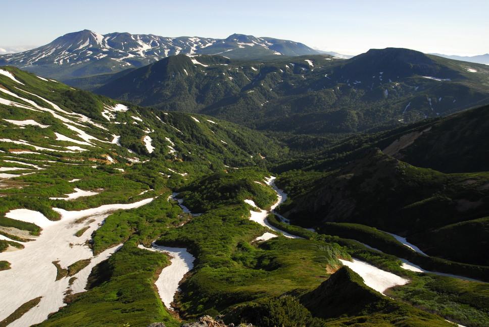 2013年7月 July 2013 大雪トムラウシ山系縦走 Trekking in Taisetsu (Tomurausi) Mountains_c0219616_1615297.jpg